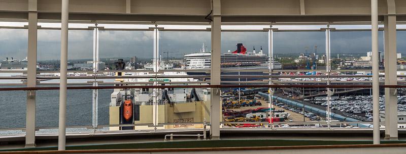 Southampton, ein beliebter Hafen für Kreuzfahrtschiffe
